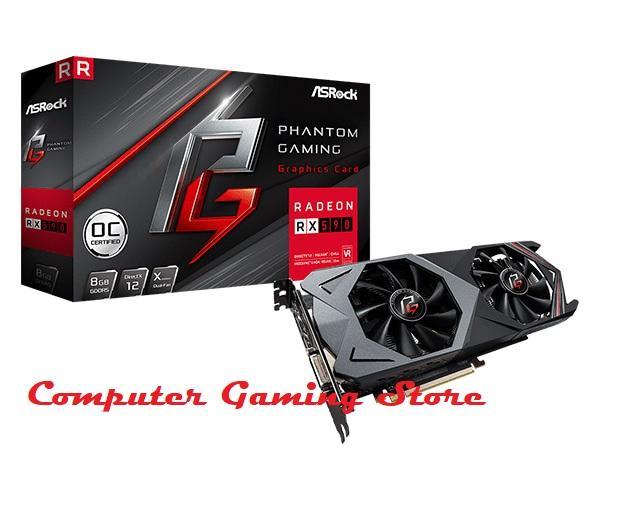 Asrock Phantom Gaming X Radeon RX590 - 8GB DDR5 256Bit