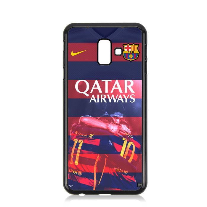 Casing For Samsung Galaxy J6 Plus BARCA Qatar Airways Football Club Team L1979