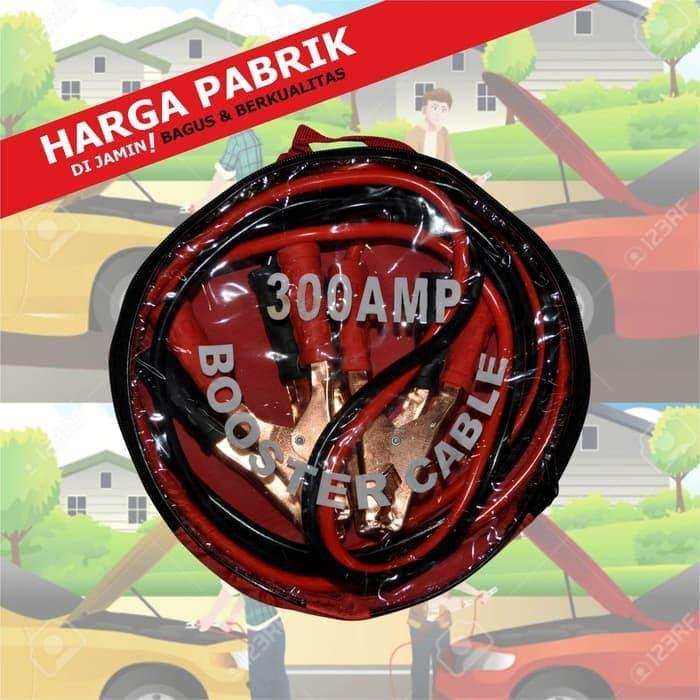 DISCOUNT!!! Kabel Jumper Aki Mobil Pancingan Accu Mobil 300AMP Ampere HIGH QUALITY