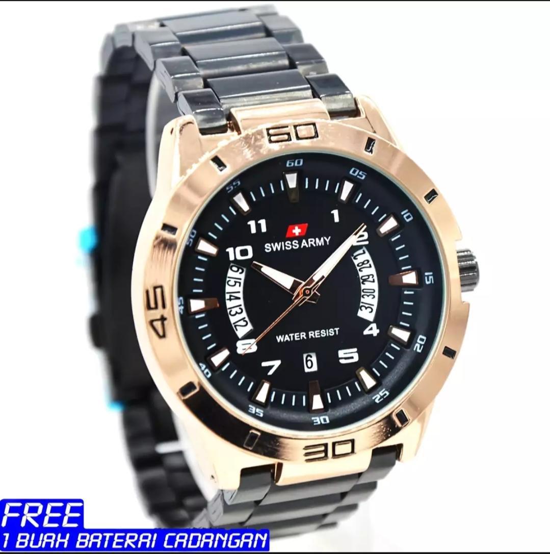 SWISS ARMY-jam tangan pria original SA6734-stenleess