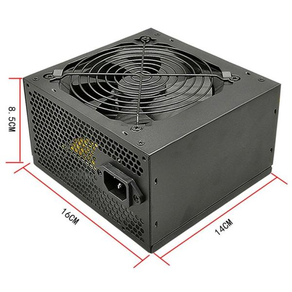 Bảng giá Rated 275W Chassis Power Supply Desktop Power Supply Supports Dual image 6+2 Interface Wide Power Supply Eu Plug Phong Vũ