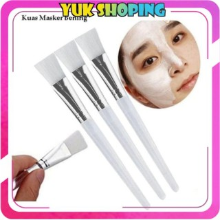 YUKSHOPING R033 Kuas Make Up Bulu Pink Brush Makeup Masker Jual Per Pcs Satuan Import Murah cod thumbnail