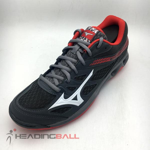 Sepatu Volley Mizuno Original Thunder Blade Dark Shadow Red V1GA177003 3729a986ff
