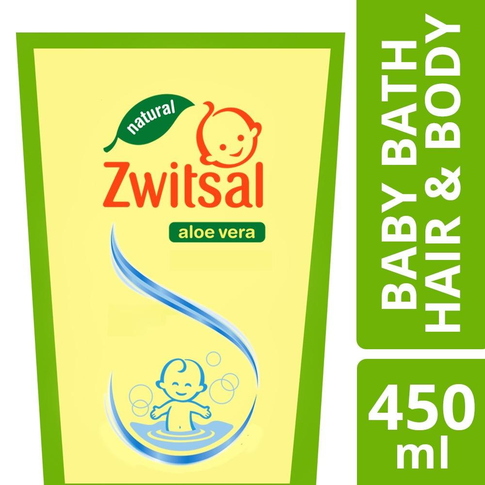 Zwitsal Baby Bath 2 In 1 Hair & Body Natural 450ml By Lazada Retail Zwitsal.