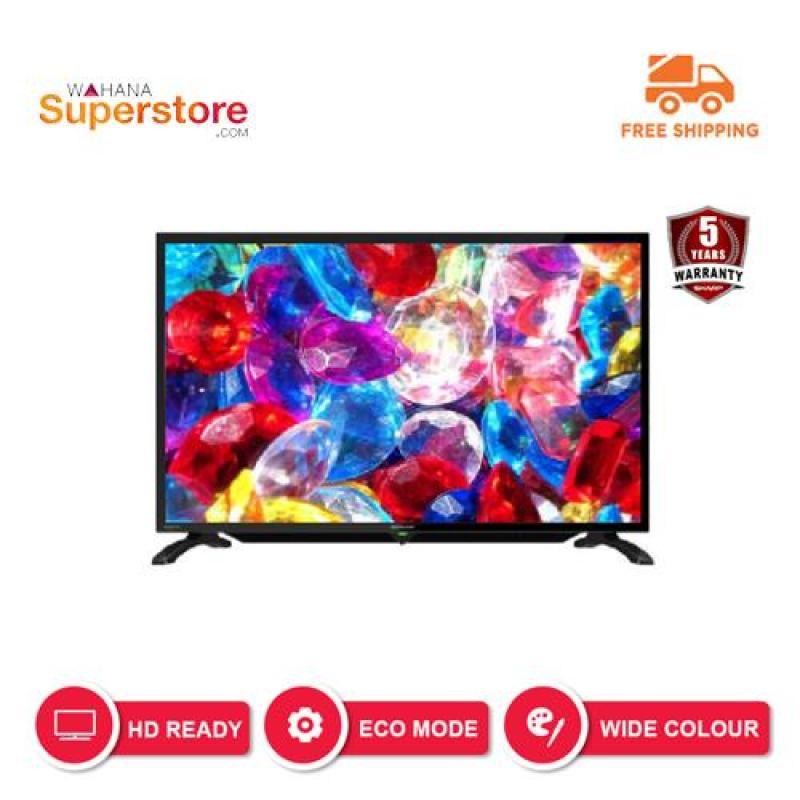 SHARP LED TV 32 Inch HD - 2T-C32BA1i - Hitam