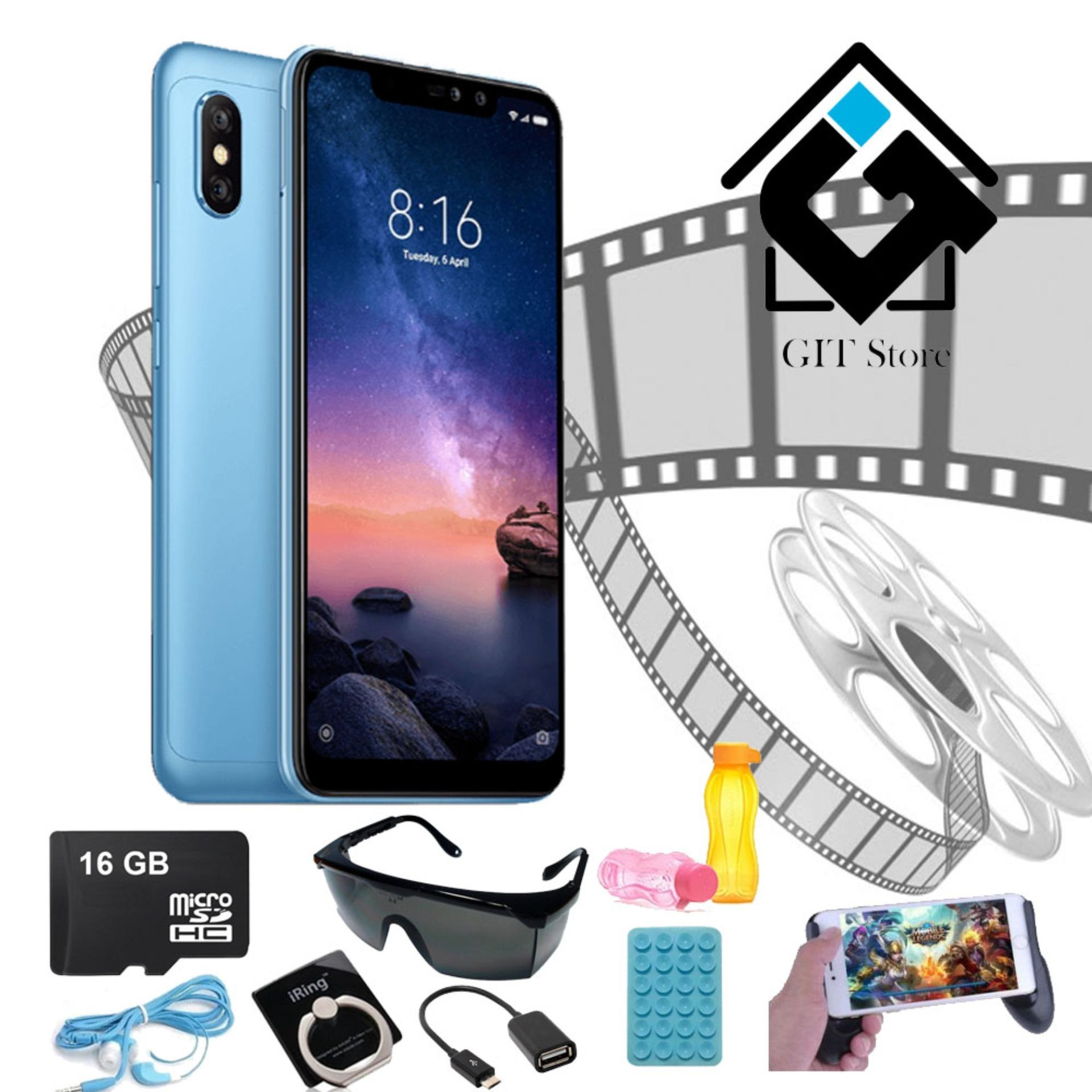 Xiaomi Redmi Note 6 Pro [3GB / 32GB] - Garansi Resmi TAM