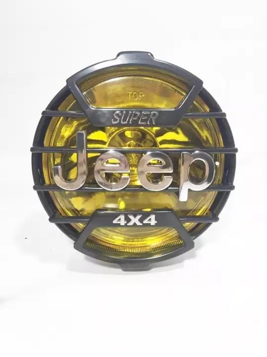 Lampu Depan Model Jeep 4x4 1Pc - KUNING