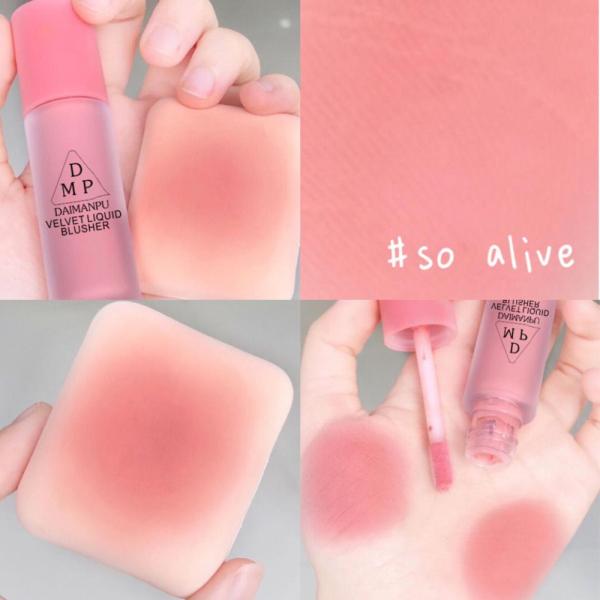 NIIKA Mặt Lỏng Phấn Má Trang Điểm Vienna Rose Matte Velvet Blush Lâu Dài Matte Make Up Tự Nhiên Má Đường Viền kho sẵn sàng【kho sẵn sàng】