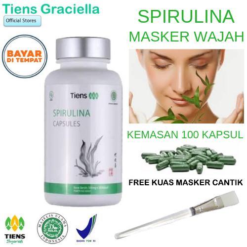 Masker Spirulina Tiens Asli Terbaru Dengan Harga Terbaik 2019 | HARGA MURAH