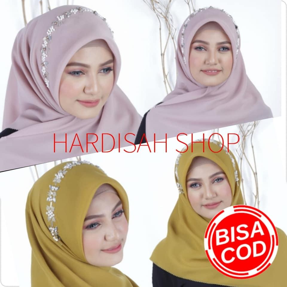 Hijab Segi Empat Bella Payet Jilbab Segiempat Payet Kerudung Segi Empat Payet Hijab Segi Empat Bella Square Polos Payet Hijab Terbaru Lazada Indonesia