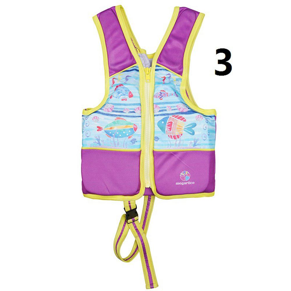 Wintryly Summer New Fashion Life Jacket Printed With Swimming Life Jacket Vest With Sos Whistle Fantastic Print Life Jackets Swimming Buoyancy Suit Sleeveless Swimming Vest Baby Clothes By Wintryly.