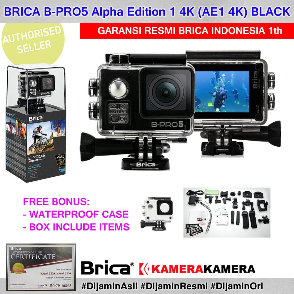 BRICA B-PRO5 Alpha Edition 4K (AE1 4K) 4K Ultra HD 12MP Action Camera - Garansi Resmi Brica Indonesia 1th