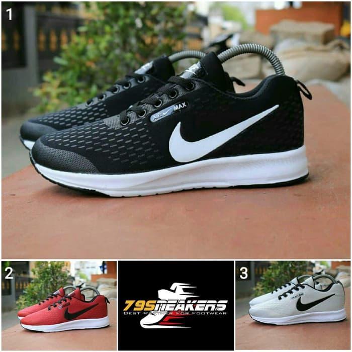 Sepatu Sneakers Sepatu Nike1 Air Max Premium Original Sepatu Pria Sepatu Olahraga Sepatu Jogging Sepatu Gaya Sepatu Keren Sepatu Merah, Hitam, Abu-abu