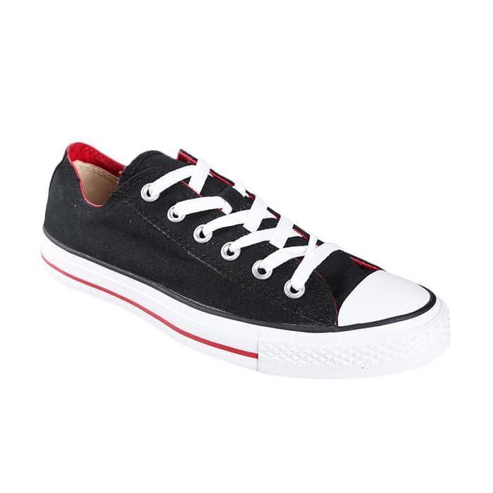 Sepatu Converse Chuck Taylor Ct Dbl Tng Canvas - Black 779f31975b