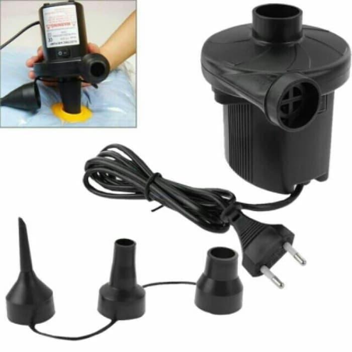 Electric Vacuum Pompa Listrik Kasur Angin Sofa Tiup Vacum Bag Gym Ball By Zen Car Parts.