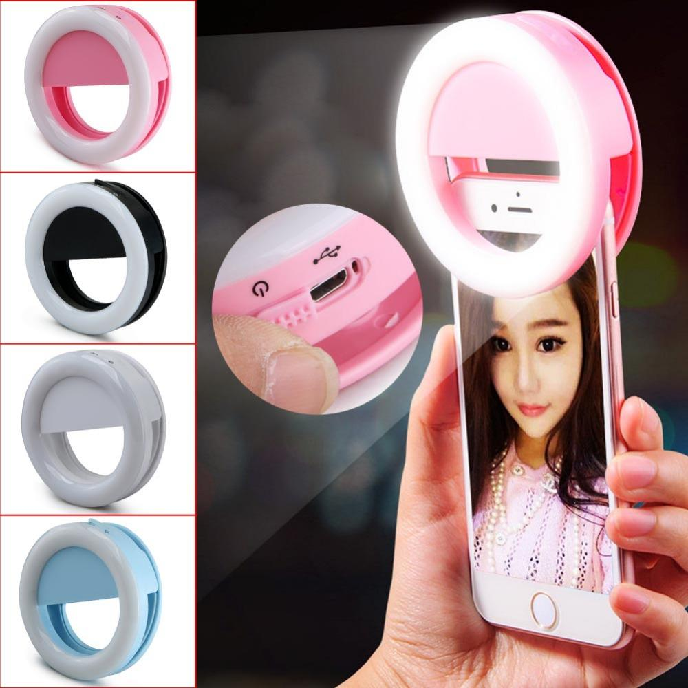Lampu Selfie Led Ringlight Flash Photography 36 Led Lamp Ring Light Charger Portable Clip Light Live Show - 1 Pcs By Health And Beauty Solution