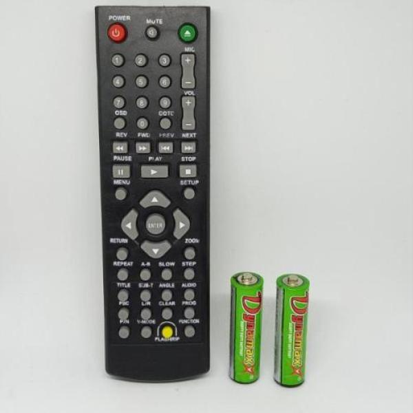 Polytron Remote DVD Player - Hitam Free Batterai
