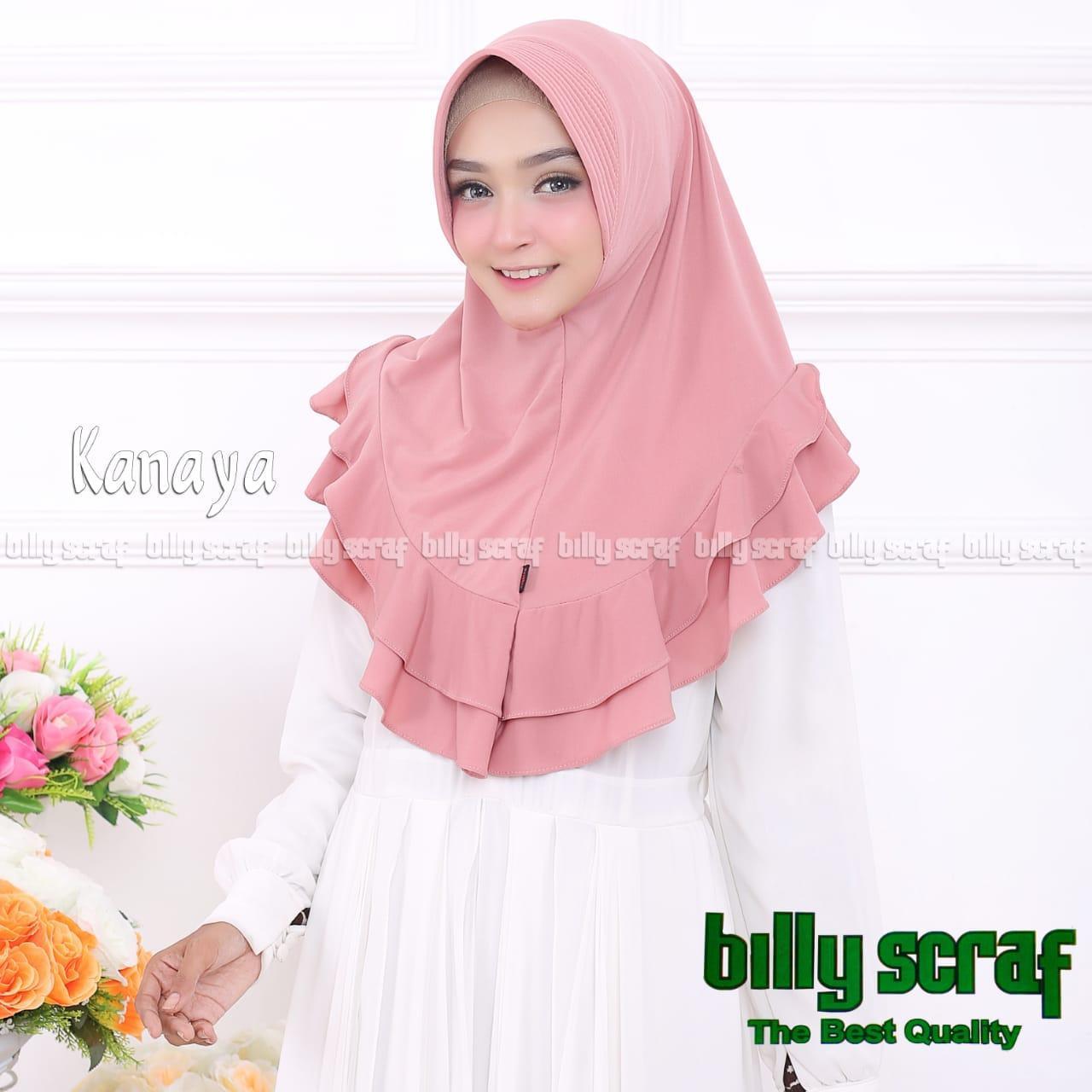 Hijab/Jilbab Instan Model Bergo terbaru termurah dan Terlaris / Kerudung Wanita terbaru jersey KANAYA / MA_olshop
