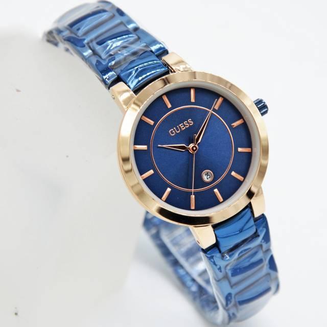 TERMURAH JAM TANGAN FASHION WANITA GUESS RANTAI TANGGAL AKTIF JAM TANGAN WANITA MASAKINI jam tangan wanita jam tangan pria jam tangan couple jam tangan anak aksesoris wanita jam tangan sport fashion wanita jam tangan murah jam tangan anti air