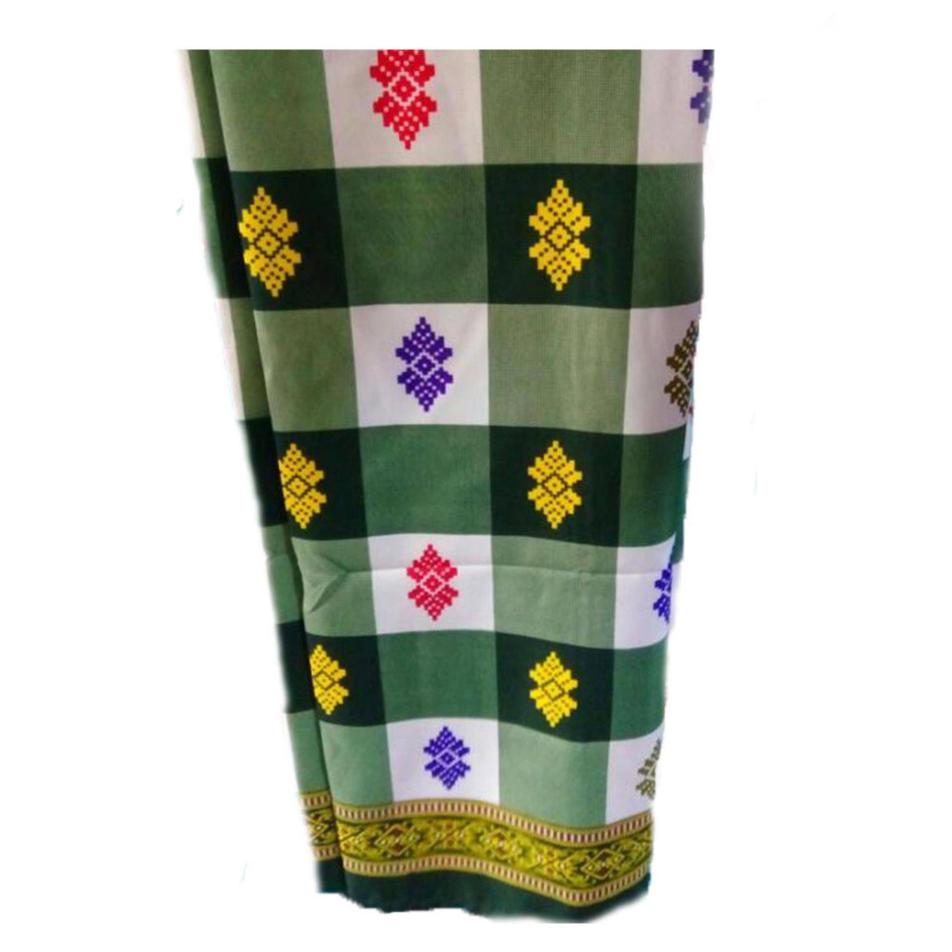 Sarung catur Jnanacrafts motif Bali