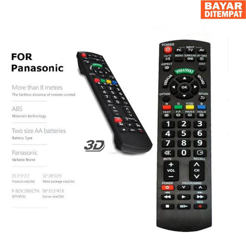 Remote Tv LED Panasonic Dijamin Pasti CONNECK Pasti Bisa