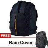 Promo Toko Eleven Tas Kamera Ransel 4 Lensa Hitam Gratis Rain Cover