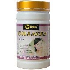 Model Emilay Collagen Usa Dietary Suplement Collagen 1 Botol Terbaru