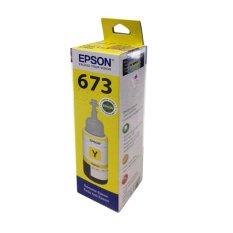 Epson Original Tinta T6734 Yellow Diskon South Sumatra