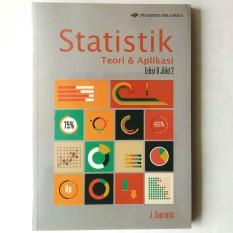 Harga Erlangga Buku Statistik Teori Dan Aplikasi Ed 8 Jl 2 J Supranto Lengkap