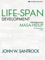 Harga Erlangga Soft Cover Life Span Development Ed13 Jl1 John W Santrock Fullset Murah