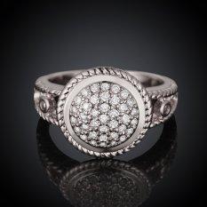 Keabadian Love Wanita Cantik 18 K Lapis Emas Putih Round Multi Lamaran Cincin Pernikahan Rings Best Janji Untuknya Tony Ulang Tahun Koleksi Cincin Perhiasan