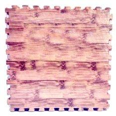 Evamat Puzzle Matras Motif Bambu - Warna Tua