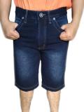 Jual Beli Online Evergreen Celana Pendek Jeans Pria Hurider 7868 Biru Tua