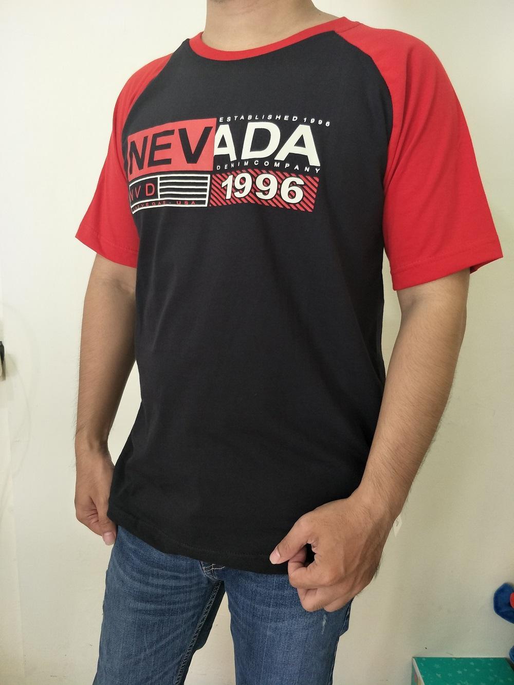 259 Kaos distro Nevada premium Quality TSHIRT PRIA / RAGLAN / KAOS PRIA / KAOS BRANDED ORIGINAL MATAHARi