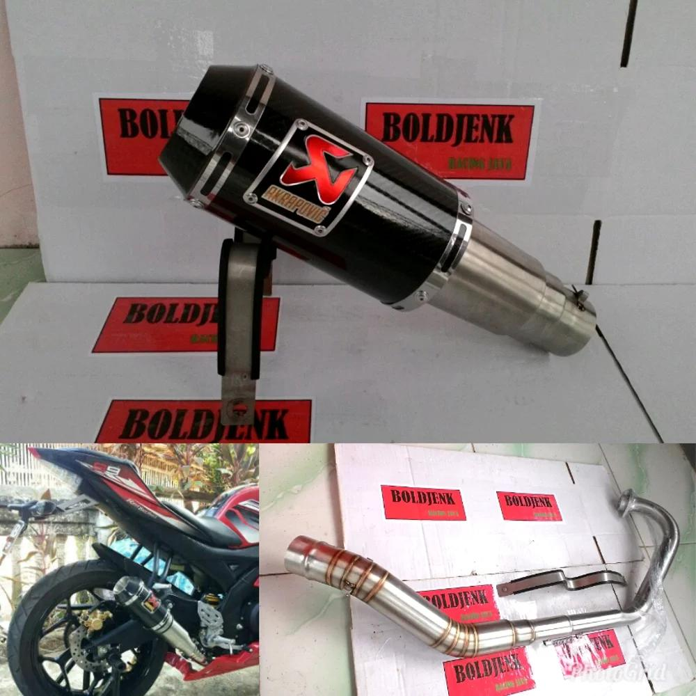 Knalpot Racing Akrapovic Gp M1 Carbon For Xabre/r15/vixion/cbr150/cb150/tiger Dll By Randyflips.