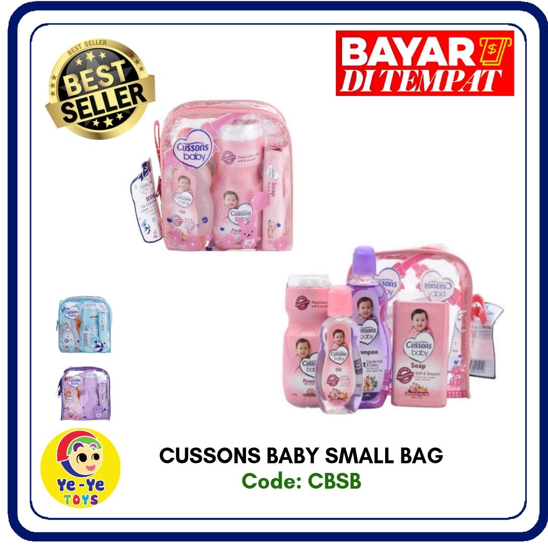 Cussons Baby Small Bag/ Perlengkapan Set Bayi/ Perlengkapan Baby Small Bag By Yeye Toys.