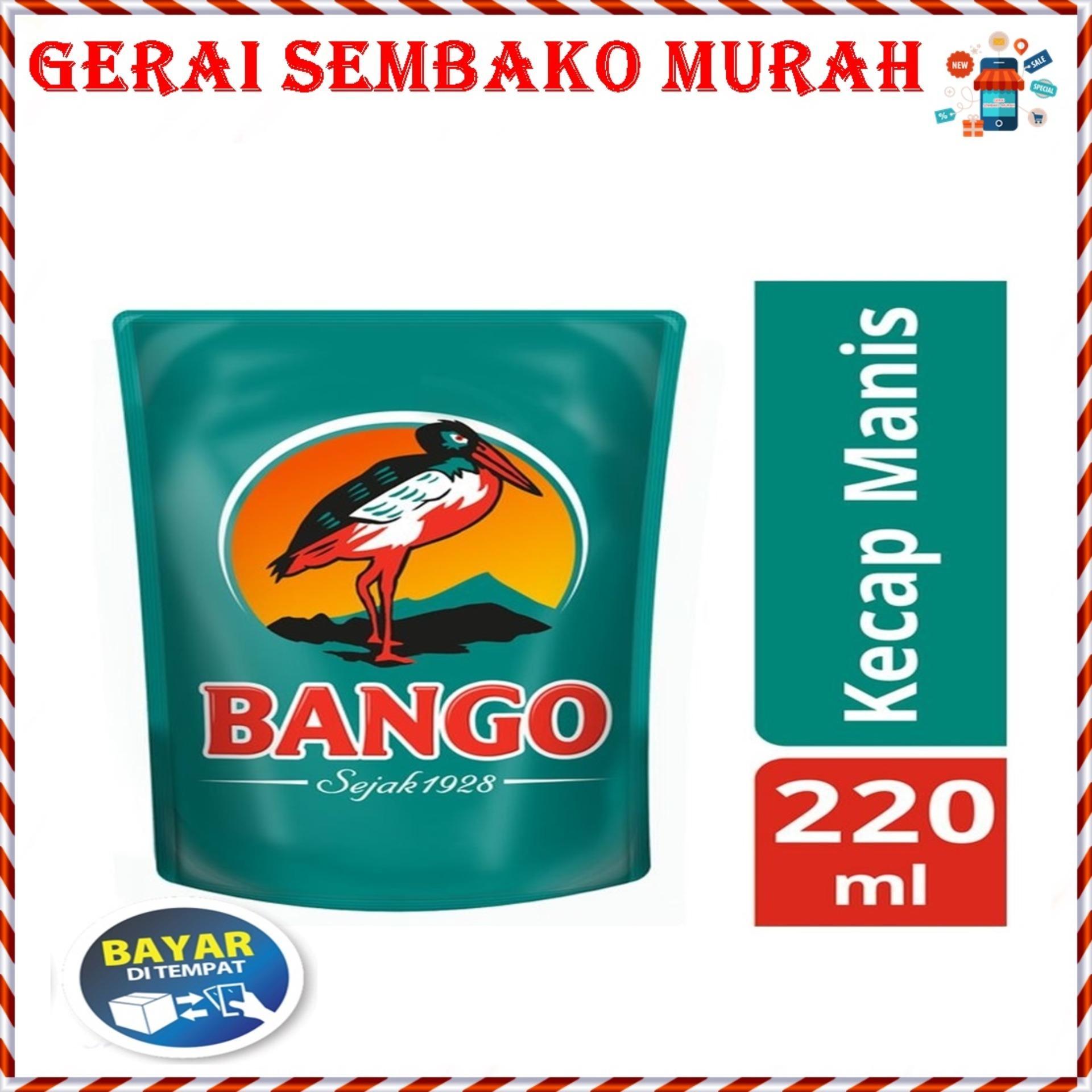 BANGO KECAP MANIS REFILL 220ML - BANGO KECAP MANIS - KECAP MANIS BANGO - GERAI SEMBAKO MURAH