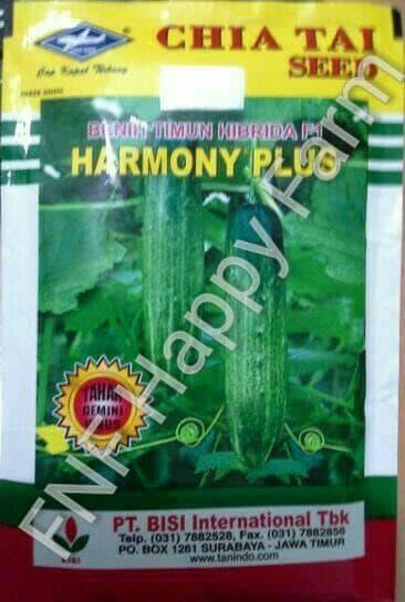 Benih Timun Harmony Plus (TAHAN VIRUS) | 20gram
