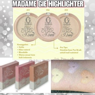 MADAME GIE HIGHLIGHTER BLINDED BY DRAMA SINGLE - HIGHLIGHTER MADAME thumbnail