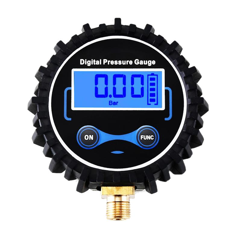 Car Digital Display Tire Pressure Inflatable Head Tire Pressure Monitoring By Ralleya.