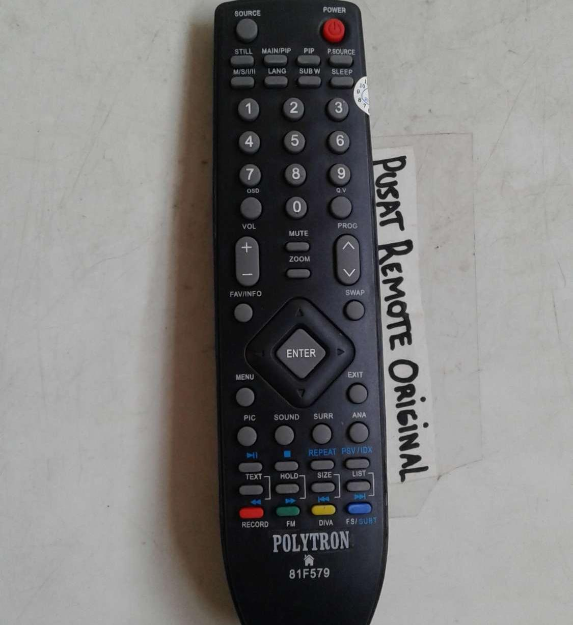 REMOTE REMOT TV POLYTRON LED LCD