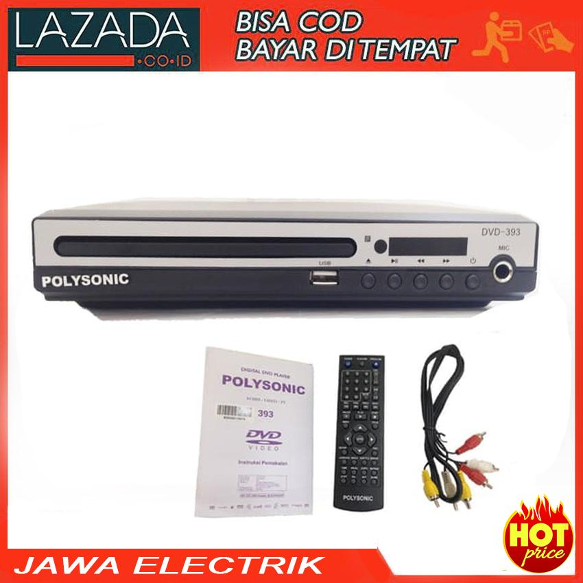 DVD Player USB Polysonic DVD-393 VCD, DVD & MP3