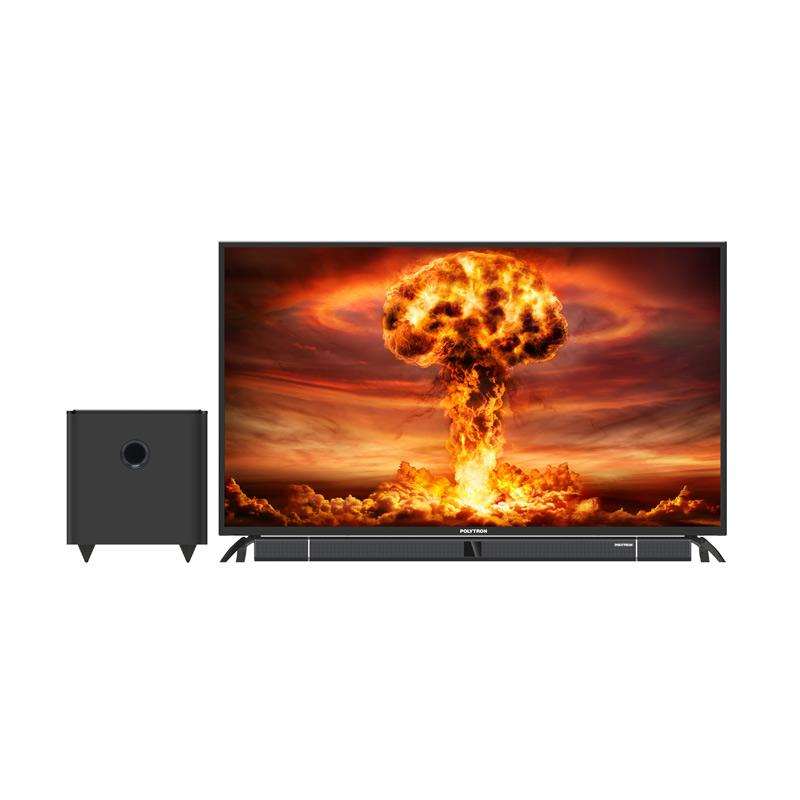 POLYTRON PLD 50B880 Cinemax Soundbar LED TV [50 Inch]