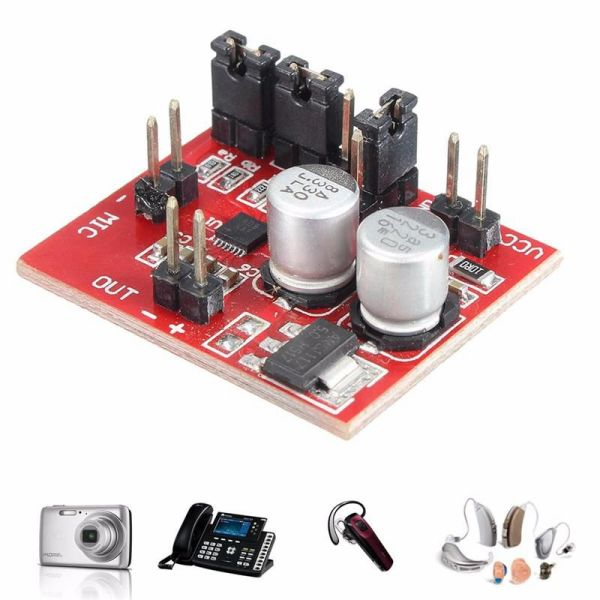 New MAX9814 Electret Microphone Amplifier Module AGC Function DC 3.6-12V For Arduino Acoustic Components Board