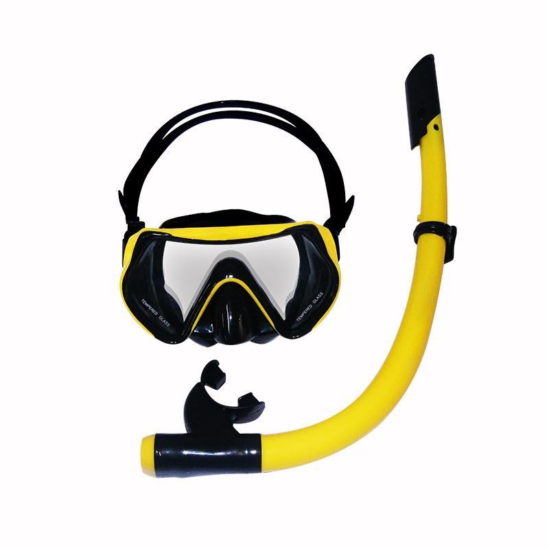 Eelic Elc-Kr17 Snorkeling Selam Masker Selam Scuba Cyber Silikon Snorkeling Satu Set Kacamata Anti Kabut Kacamata Snorkeling Tempered Glass Peralatan Selam By Indoelic.
