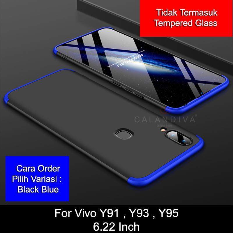 Calandiva Hard Case VIVO Y91 Y93 Y95 (6.22 Inch) (FINGERPRINT) (sama