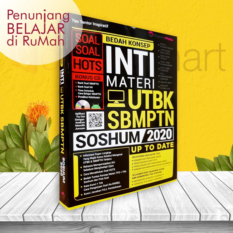 Buku Soal Sbmptn Amp Amp Amp Utbk Bedah Konsep Inti Materi Utbk Sbmptn Soshum 2020 Terlengkap Lazada Indonesia