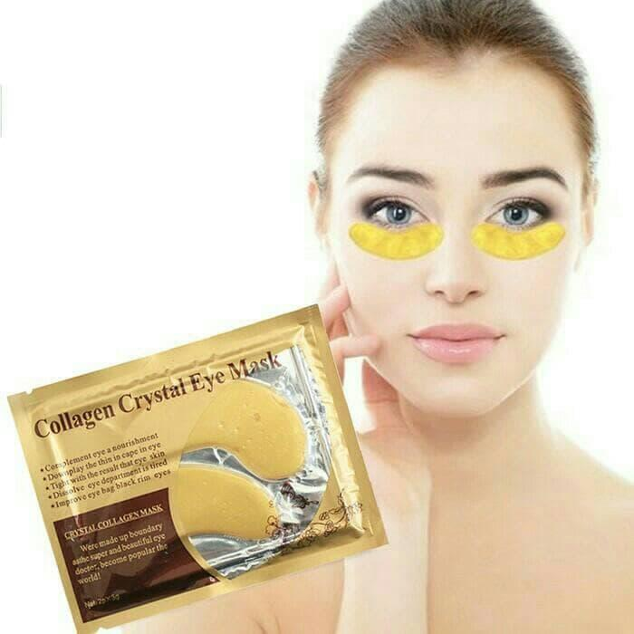 [2PCS] MASKER MATA GOLD + COLLAGEN (GRODIR MURAH)