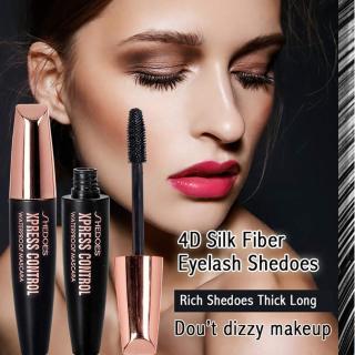 SHEDOES 4D Silk Fiber eyelash Mascara Maskara Untuk Memanjangkan Bulu Mata Maskara Untuk Menebalkan Bulu Mata Maskara Waterproof thumbnail