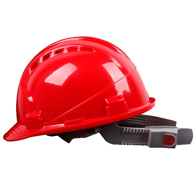ABS Safe Cap Construction Site Construction Architecture Engineering Leadership National Standard Supervision Labor Safety Safe Breathable Helmet ke yin zi